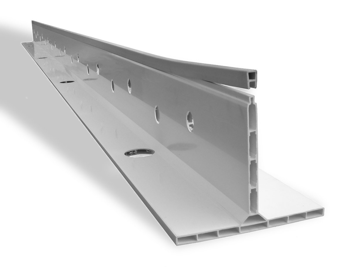 \'K Form\' Screed Rails