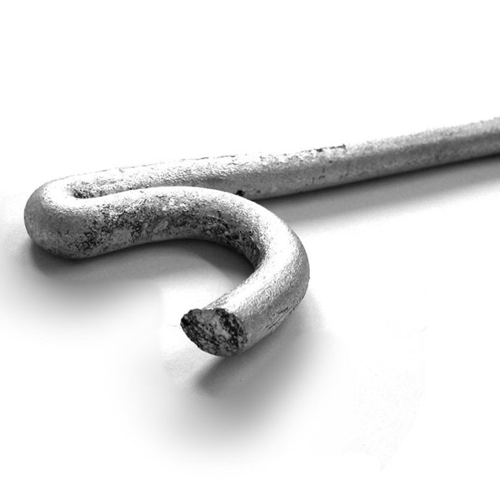 Heavy Duty Galvanised Pigstail Pins